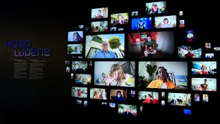 La exposición 'Homo Ludens' analiza el impacto de los videojuegos en la sociedad
