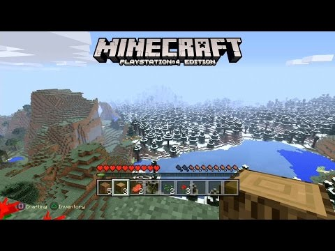Minecraft PS Edition Gameplay YouTube - Minecraft edition spiele
