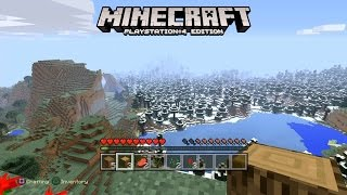 Minecraft: PS4 Edition Gameplay