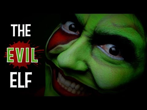 A HAPPY EVIL ELF – MAKEUP TUTORIAL