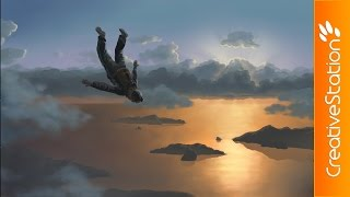 Fly High - Speed Painting (#Photoshop) | CreativeStation