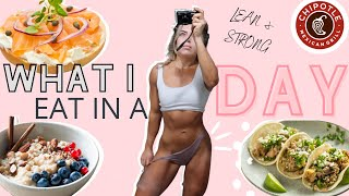 FULL DAY OF EATING || Macros || Tips When eating out