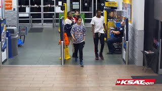 VIDEO: 4 men accused of stealing SUV, charging stolen credit card at Walmart