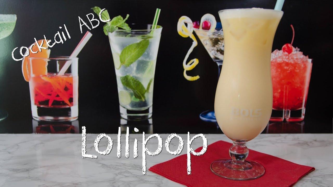 lollipop der fruchtig s e sahne cocktail cocktail abc l ohne alkohol youtube. Black Bedroom Furniture Sets. Home Design Ideas
