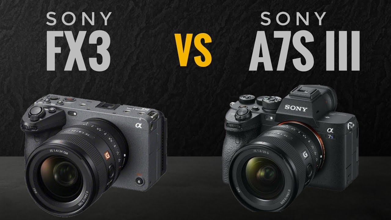 Sony FX3 vs Sony A7S III | You should'nt wait for FX3!