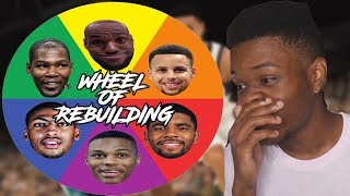 SPIN THE WHEEL REBUILDING CHALLENGE IN NBA 2K19