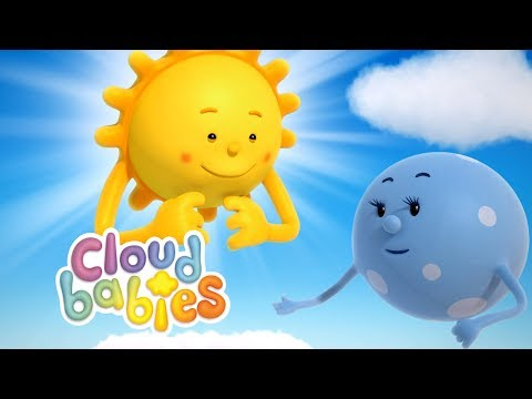 Cloudbabies - The Sun, Moon And Stars   Cartoons For Kids