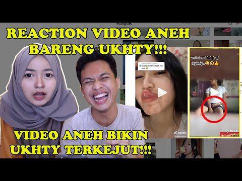 REAKSI UKHTY LIHAT VIDEO KAMPREETT!!!    REACTION BARENG UKHTY CANTIK!!!
