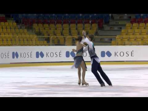 2015 ISU Jr. Grand Prix - Torun Free Dance Sofia POLISHCHUK / Alexander VAKHNOV RUS