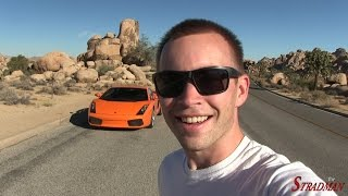 Day 2:  Driving my new Lamborghini 1,000 miles home!