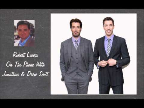 Robert Laura's Interview With The Property Brothers Jonathan and Drew Scott.wmv