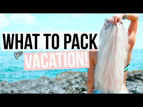 What To Pack for Vacation! Tips + Essentials! | Aspyn Ovard