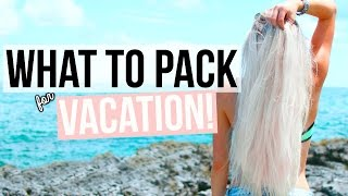 What To Pack For Vacation Tips Essentials Aspyn Ovard
