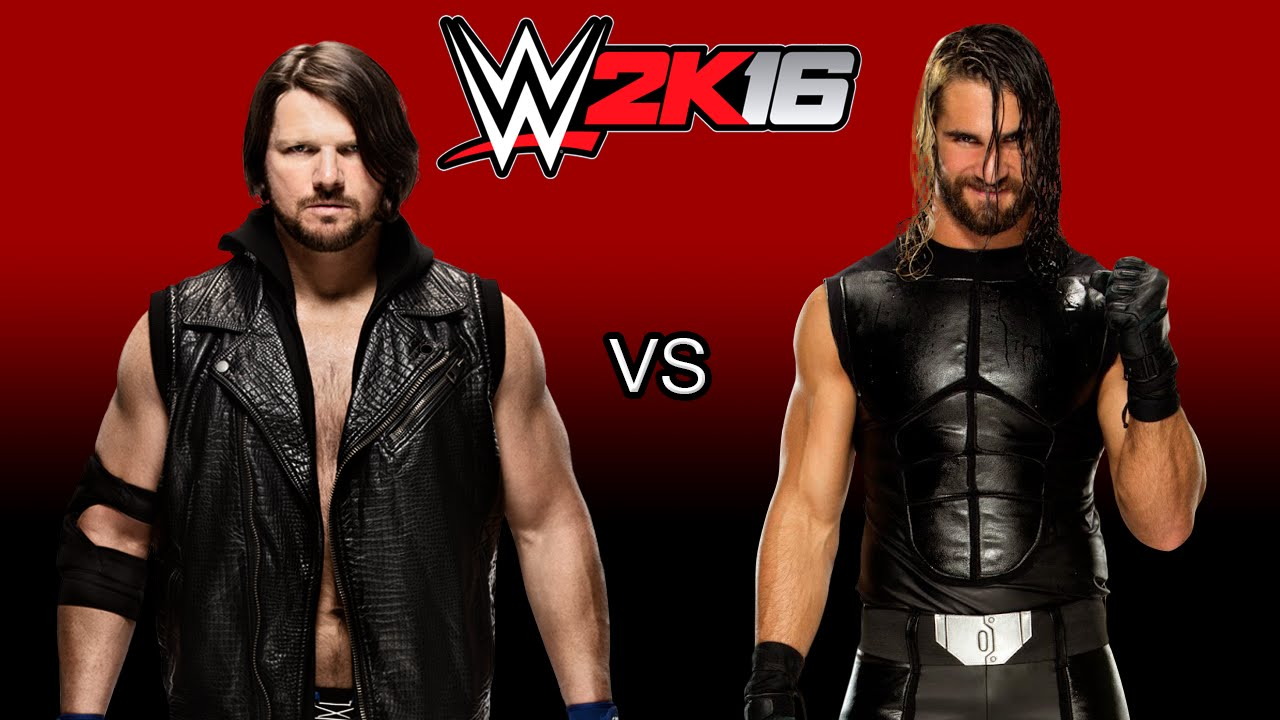 aj styles vs seth rollins dream matches wwe 2k16 ps4 gameplay youtube. Black Bedroom Furniture Sets. Home Design Ideas
