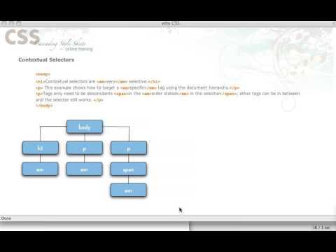 {Web-D 24} Contextual Selectors
