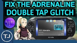 Adrenaline ps vita black screen