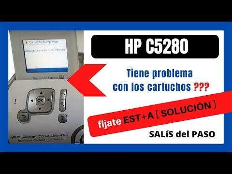 MULTIFUNCIÓN HP Photosmart C5280 📢 [Cartuchos de impresión consulte documentación de impresora]