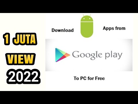 CARA BARU DOWNLOAD APLIKASI PLAYSTORE DI PC