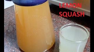 ginger lemon squash (malayalam)