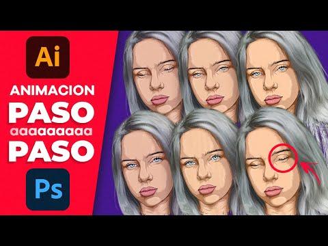 Cómo ANIMAR un Rostro · Fácil   Illustrator + Photoshop Tutorial thumbnail