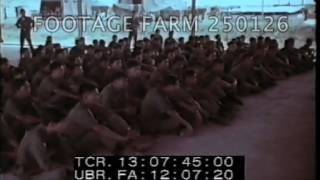 Vietnam War -1964: ARVN Ranger Training 250126-12 | Footage Farm