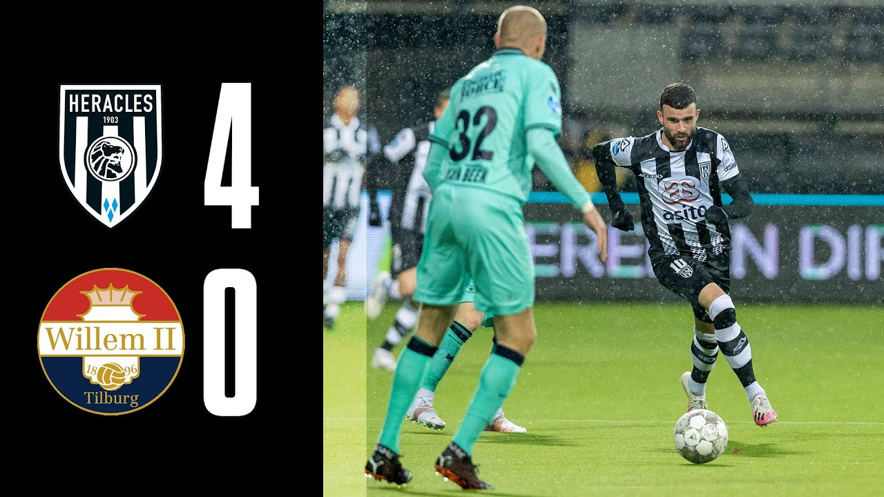 Heracles Almelo - Willem II | 10-04-2021 | Samenvatting