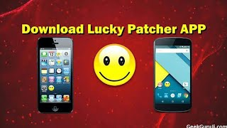How to download Lucky Patcher on a iPhone and Android device 2018