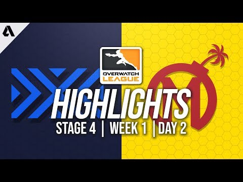 New York Excelsior vs Florida Mayhem | Overwatch League Highlights OWL Stage 4 Week 1 Day 2