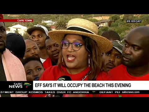 EFF speaks out from Clifton's 4th Beach