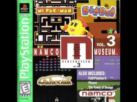 Namco Museum Vol. 3 - Dig Dug Game Room Theme