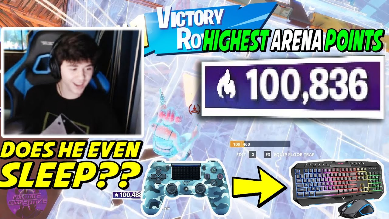 THIS Unknown Controller Pro Switches To MNK & Breaks Arena Points Record - 100,000 Points Tips S4