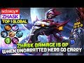 Zhask Damage Is OP,  When Underrated Hero Go Carry [ Top Global 1 Zhask ] ѕєℓσяαу♥ Zhask