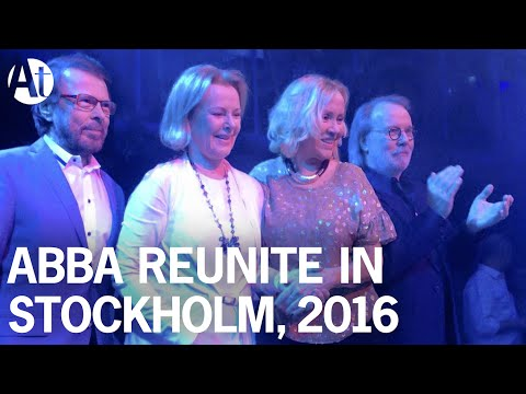 ABBA REUNION 2016! Full interview at Mamma Mia!  I Still Have Faith In You due 2018