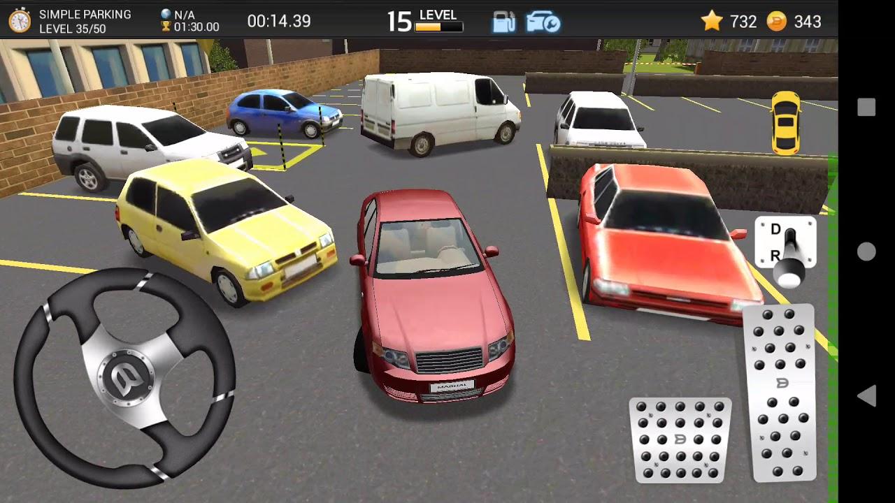 Car Parking Game D AUDI A Simple Parking Level - Audi car 3d games