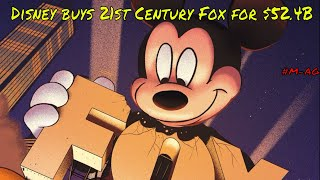 The Middle Aged Guys discuss Disney buying 21st Century Fox for $52.4 Billion
