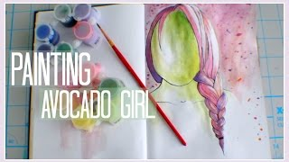 Download Video Painting // Avocado Girl MP3 3GP MP4