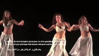 Marwan khoury مروان خوري Asr el Shaw قصر الشوق paroles كلمات Group Belly Dance @D4C '16