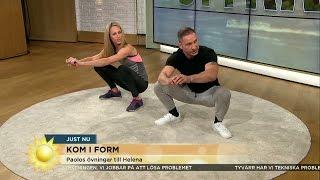 Här är övningarna som räddar din rygg - Nyhetsmorgon (TV4)