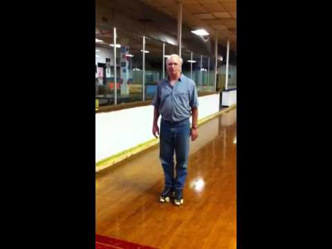 How to do a Camel Spin on Roller Skates