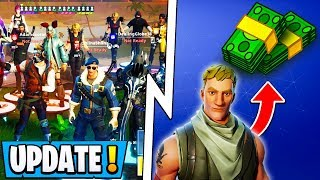 "*NEW* Fortnite Update! | ""Expert"" Program, Money for Everyone, 16 Player Parties!"
