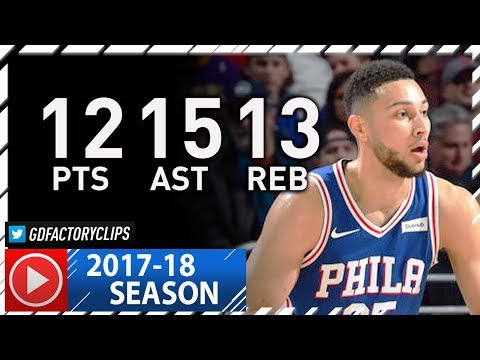 Ben Simmons Triple-Double Full Highlights vs Lakers (2017.12.07) - 12 Pts, 13 Reb, 15 Ast