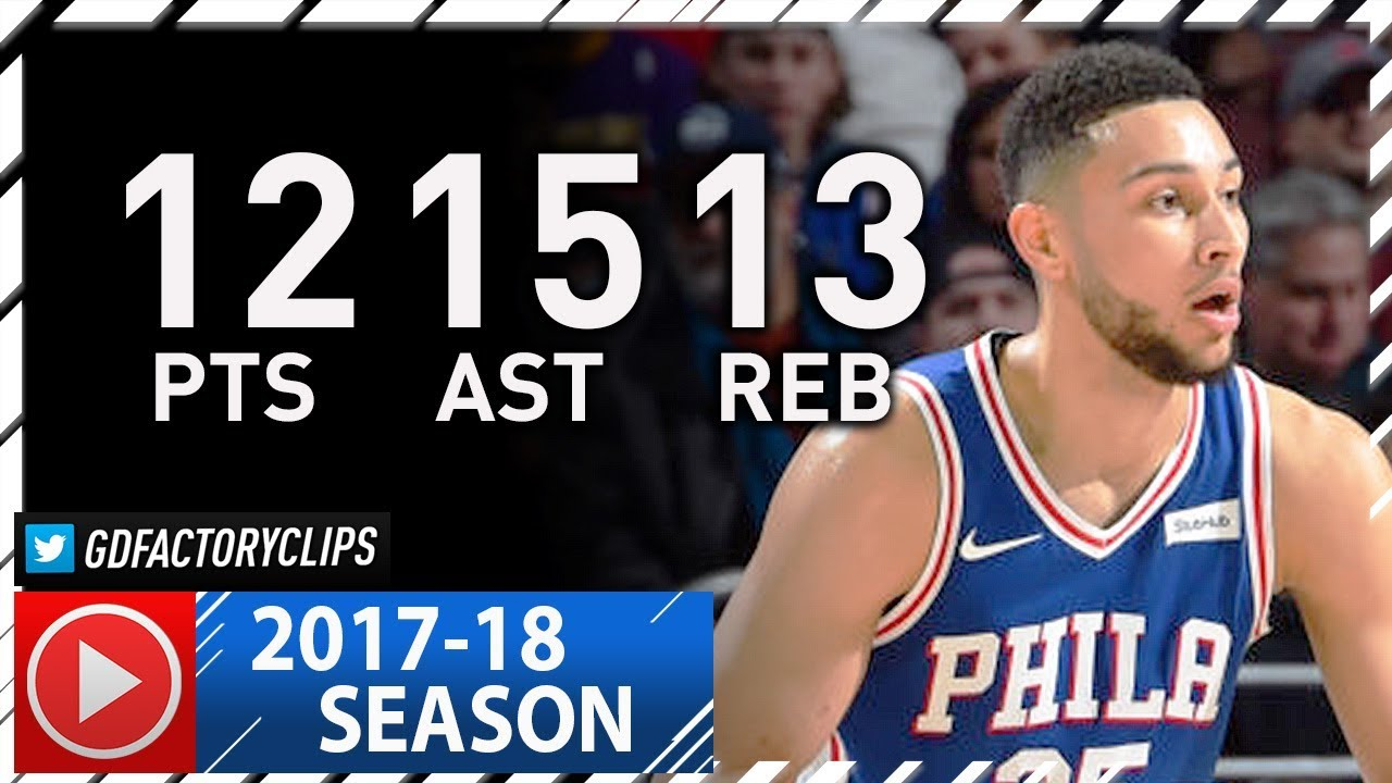 Ben Simmons Triple-Double Full Highlights vs Lakers (2017 ...