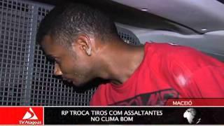 RP TROCA TIROS COM ASSALTANTES NO CLIMA BOM