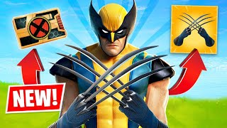 New WOLVERINE BOSS UPDATE in FORTNITE! (Season 4)