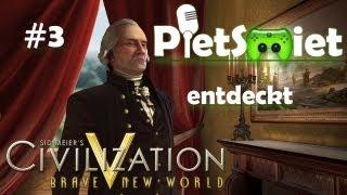 CIVILIZATION V # 3 - Neue Städte neues Glück «»  Let's Play Civizliation V | HD