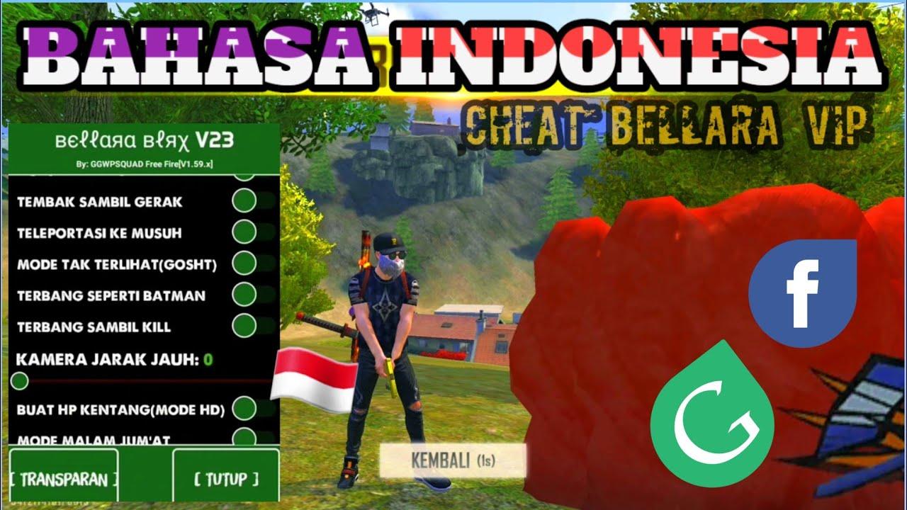 APK CHEAT FREE FIRE UPDATE MOD BAHASA INDONESIA || ANTIBAN+WORK RANK