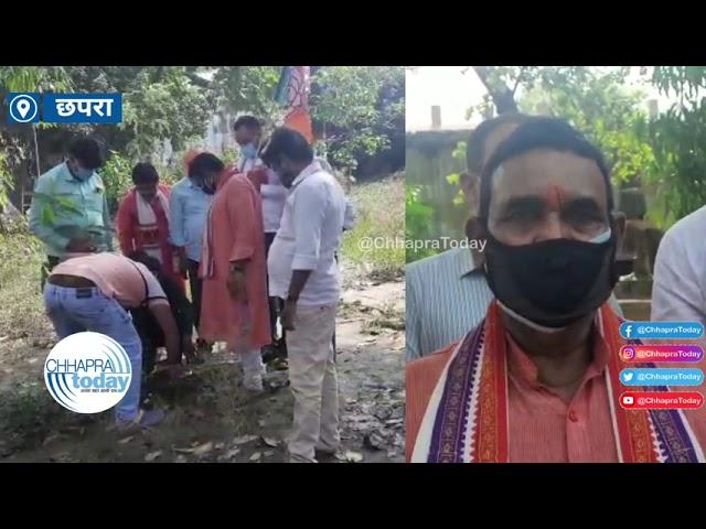 भाजपा कार्यकर्ताओं ने पर्यावरण दिवस पर नगर निगम पार्क में किया पौधारोपण