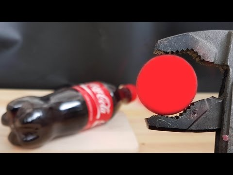 Thumbnail: EXPERIMENT Glowing 1000 degree METAL BALL VS COCA COLA