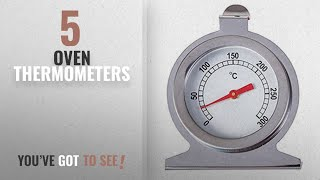 Top 10 Oven Thermometers [2018]: Okayji Stainless Steel Kitchen Oven Thermometer 300 Centigrade