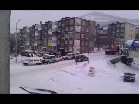 Авария на 5 км в Петропавловске-Камчатском